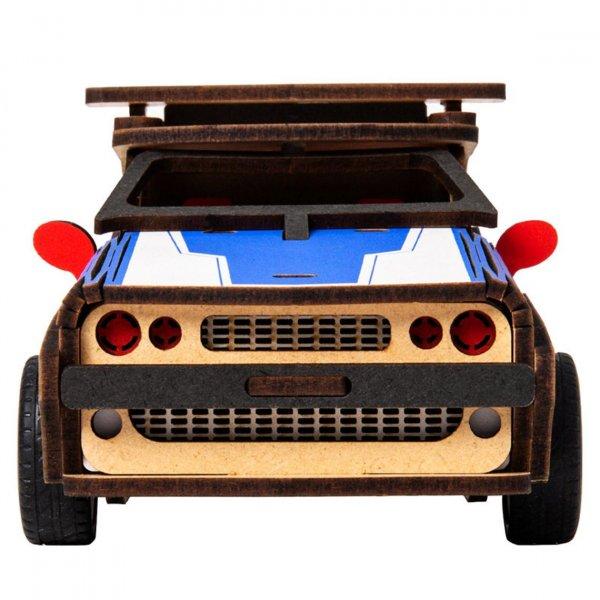 Polizei Auto 3D Holzpuzzle HL302