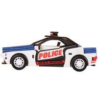 Polizei Auto 3D Holzpuzzle HL302 shop.holzpuzzle-3d.de Bild 4