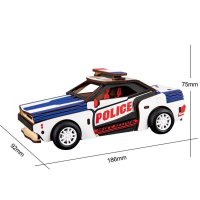 Polizei Auto 3D Holzpuzzle HL302 shop.holzpuzzle-3d.de Bild 5