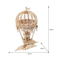 Luftballon 3D Holzpuzzle TG406