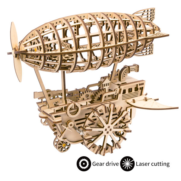 3D Holzpuzzle Zeppelin LK-702 229-teilig